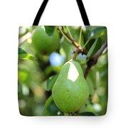 Green Pear Tote Bag by Carol Groenen