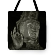 Guan Yin Bodhisattva - Goddess Of Compassion Tote Bag by Christine Till
