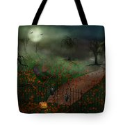 Halloween - One Hallows Eve Tote Bag by Mike Savad