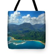 Hanalei Bay 2 Tote Bag by Ken Smith