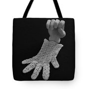 Hand And Glove Tote Bag by Barbara St Jean