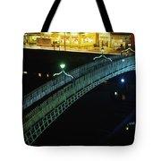 Hapenny Bridge, Dublin City, Co Dublin Tote Bag by The Irish Image Collection