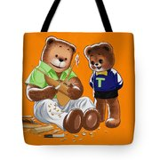 Happy Fathers Day Tote Bag by William Francis Phillipps