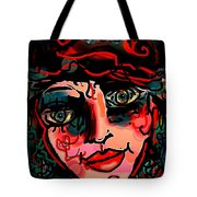 Happy Girl Tote Bag by Natalie Holland