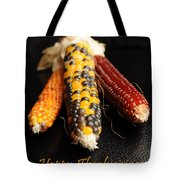 Happy Thanksgiving Card No.1 Tote Bag by Luke Moore