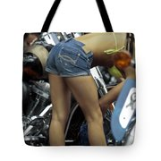 Hard At Work Tote Bag by David Kehrli