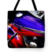 Harley Addiction Tote Bag by Susanne Van Hulst