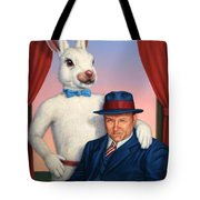 Harvey And Randall Tote Bag by James W Johnson
