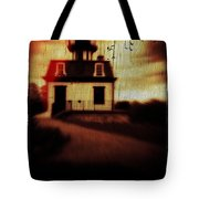 Haunted Lighthouse Tote Bag by Edward Fielding