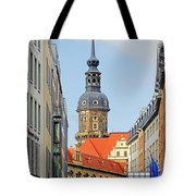 Hausmannsturm - Lookout Of A Castle With Stunning Views Tote Bag by Christine Till