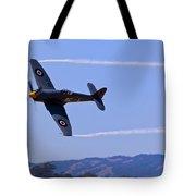 Hawker Sea Fury Tote Bag by Garry Gay