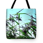Hay In The Summer Tote Bag by Pauli Hyvonen