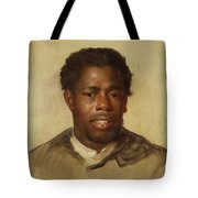 Head Of A Man Tote Bag by John Singleton Copley