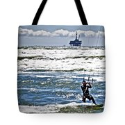 Heading Back Out Tote Bag by Gwyn Newcombe