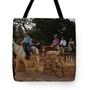 Heading Out Tote Bag by Heidi Smith