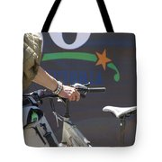 Heading Somewhere Tote Bag by Marilyn Wilson