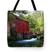 Heart Of The Ozarks Tote Bag by Lianne Schneider