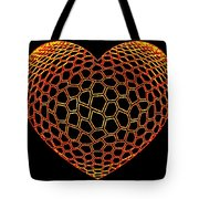 Heartline 9 Tote Bag by Will Borden