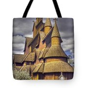 Heddal Stave Church  Tote Bag by Heiko Koehrer-Wagner