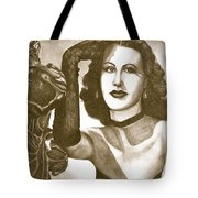 Heddy Lamar Tote Bag by Debbie DeWitt