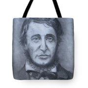 Henry David Thoreau Tote Bag by Jack Skinner