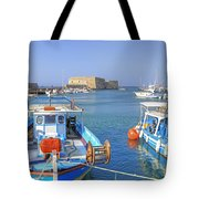 Heraklion - Venetian Fortress - Crete Tote Bag by Joana Kruse