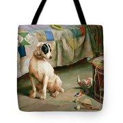 Hide And Seek Tote Bag by Arthur Charles Dodd