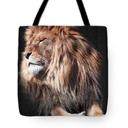His Majesty Tote Bag by Bill Stephens