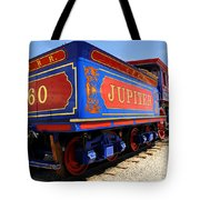 Historic Jupiter Train - Promontory Point National Historic Park Tote Bag by Gary Whitton