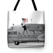 Hoisting The Colors Tote Bag by Greg Fortier