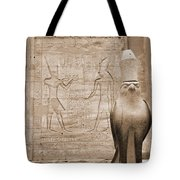 Horus Temple Tote Bag by Donna Corless
