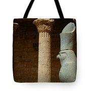 Horus Temple Of Edfu Egypt Tote Bag by Bob Christopher