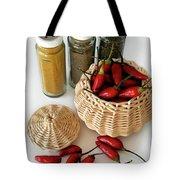 Hot Spice Tote Bag by Carlos Caetano