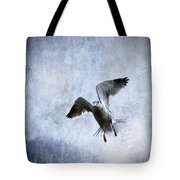 Hovering Seagull Tote Bag by Carol Leigh