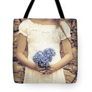 hydrangea Tote Bag by Joana Kruse