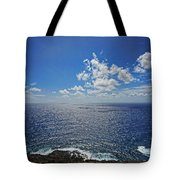 I Can See For Miles Tote Bag by Cheryl Young