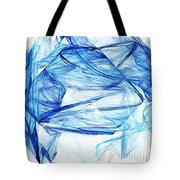 Ice 002 Tote Bag by Barry Jones