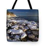 Ice Pieces, Cape Turner, Prince Edward Tote Bag by John Sylvester