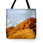 Imagination runs wild - Valley of Fire Nevada Tote Bag by Christine Till