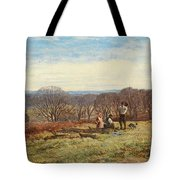 In The New Forest Tote Bag by Heywood Hardy