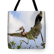 In The Rookery Tote Bag by Patrick M Lynch