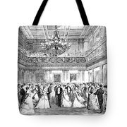 Inaugural Ball, 1869 Tote Bag by Granger