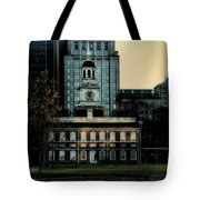 Independence Hall - The Cradle of Liberty Tote Bag by Bill Cannon