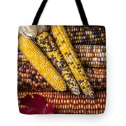 Indian Corn Tote Bag by Garry Gay