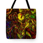 Injections Tote Bag by Linda Sannuti