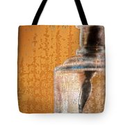 Ink Bottle Calligraphy Tote Bag by Carol Leigh
