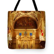 Inside St Louis Cathedral Jackson Square French Quarter New Orleans Tote Bag by Shawn O'Brien