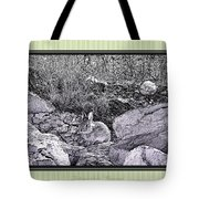 Intangible Bunny Tote Bag by Susan Kinney