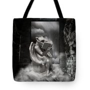 Intellectual   Gargoyle Tote Bag by Cheryl Young