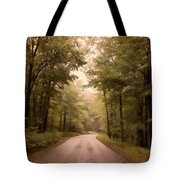 Into The Mists Tote Bag by Lois Bryan